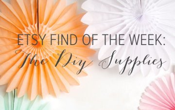 Etsy Find of The Week: The DIY Supplies
