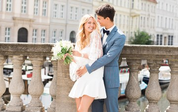 Is This The Most Chic Civil Wedding Ever?