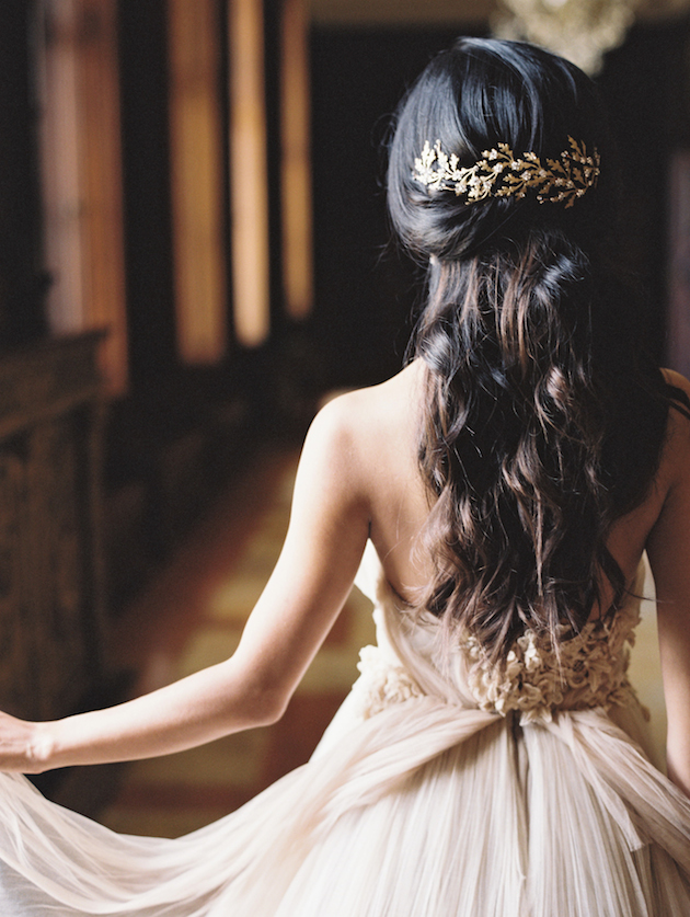 3 Ways To Style Long Hair for Your Wedding Day