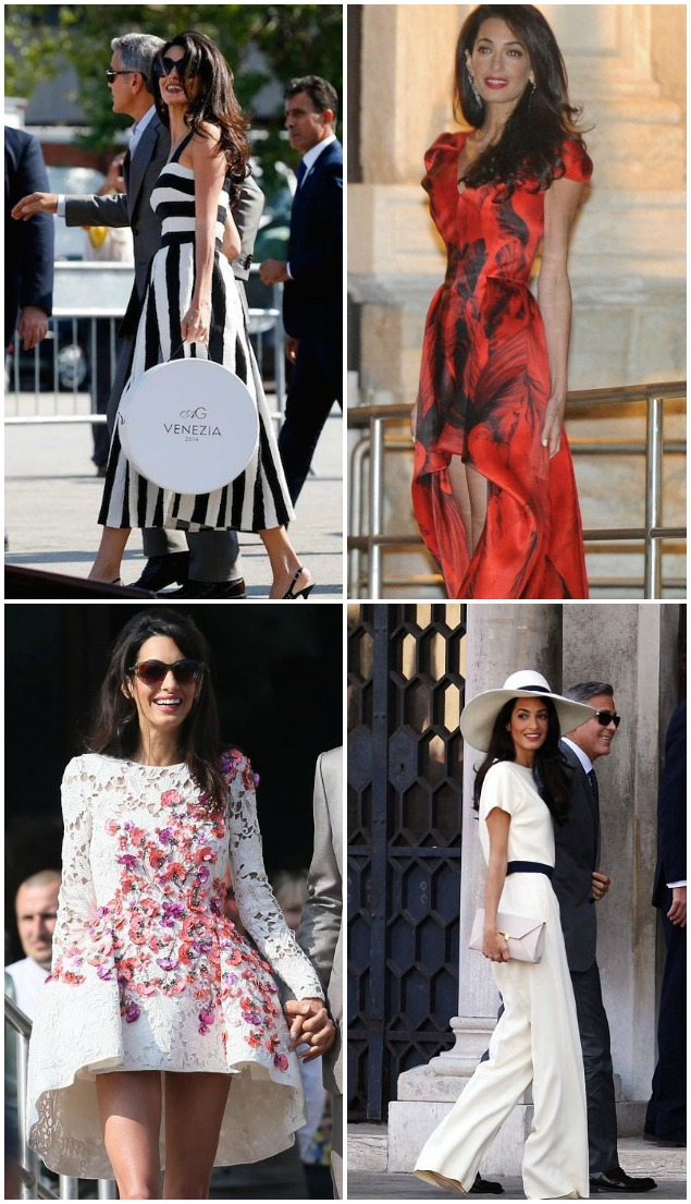 10 Of The Most Stylish Celebrity Weddings Of 2014 - Bridal Musings