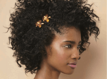 3 Ways To Style Curly Hair For Your Wedding Day