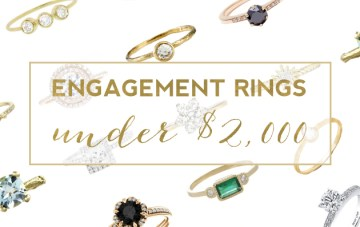 20 Stunning Engagement Rings (Under $2,000)