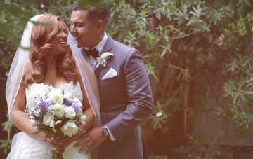 Soft, Dreamy, Romantic Malibu Wedding Film