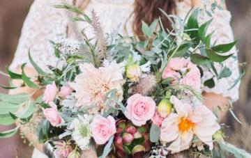 Cool Boho Wedding Inspiration Shoot | Marissa Kay Photography | Bridal Musings Wedding Blog 24