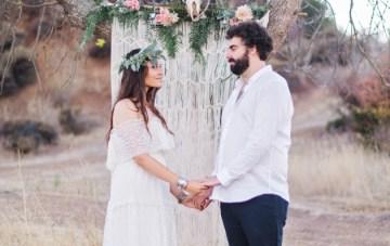 Cool Boho Wedding Inspiration Shoot | Marissa Kay Photography | Bridal Musings Wedding Blog 30