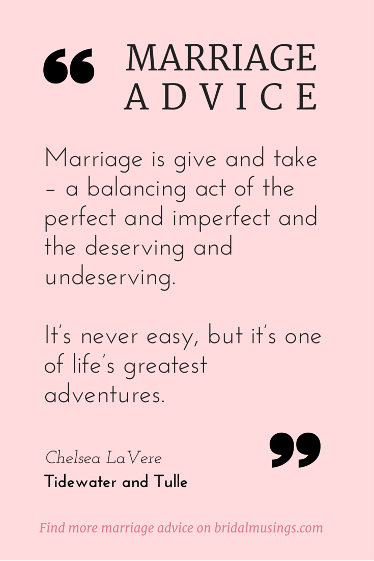 Datings advice for newlyweds