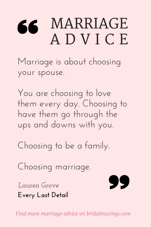 marriage is a choice