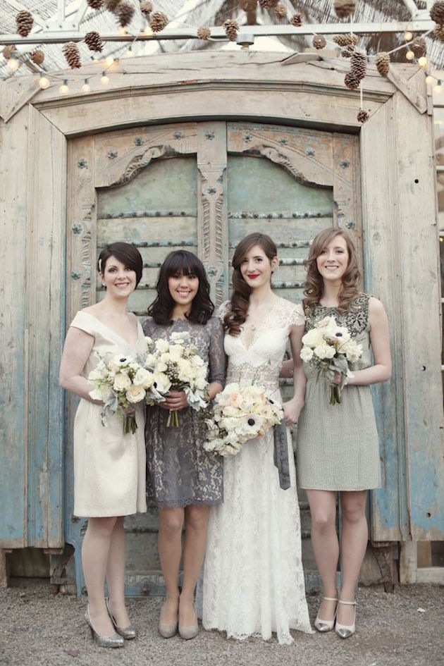 Mix and Match Bridesmaid Dress Ideas | Bridal Musings Wedding Blog 1