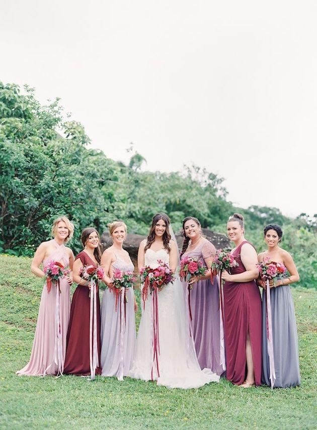 35 Ideas For Mix And Match Bridesmaid Dresses,Sherri Hill Wedding Dresses Uk