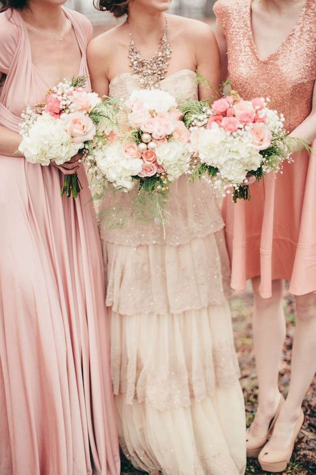Mix and Match Bridesmaid Dress Ideas | Bridal Musings Wedding Blog 8