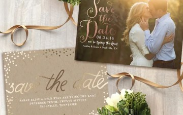 Minted's 2015 Save the Date Collection (and how you can win $500 of paper prettiness! )