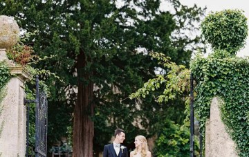 A 1920s Wedding Garden Party with a Literary Twist