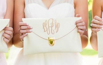 Twelve Ways to Add a Monogram to Your Wedding Day