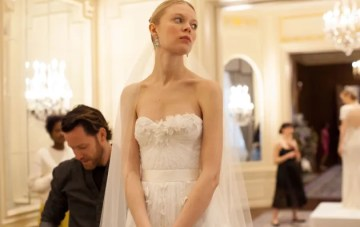 Best of Bridal Market: Backstage at Marchesa Wedding Dress Collection S/S 2016