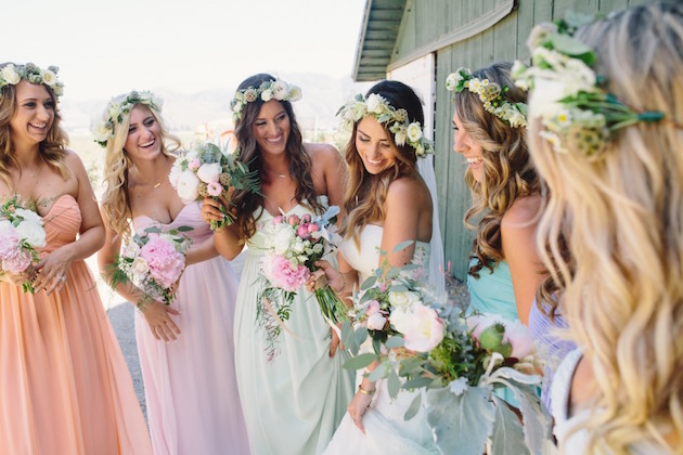 21 ideas for a spring wedding junglespirit