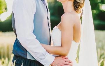 Elegant English Wedding with Pretty Blush Hues