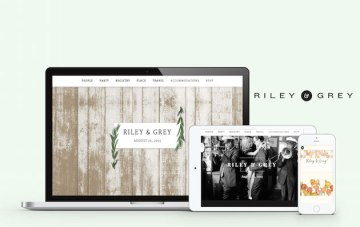 Chic, Luxurious, and Oh-So-Useful; Riley & Grey Wedding Websites