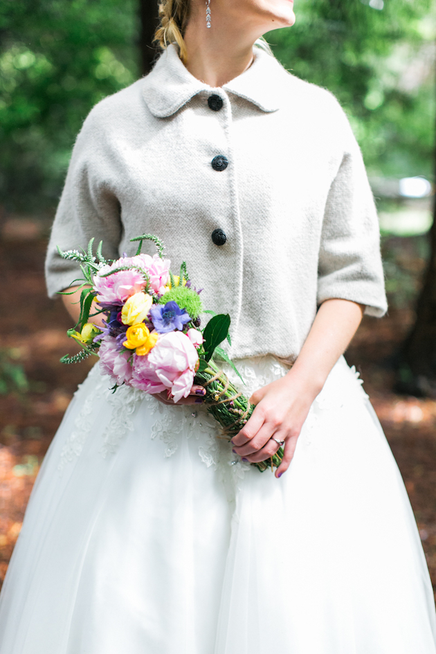 Colourful Redwoods Wedding in the Rain | Caitlin Turner Photography | Bridal Musings Wedding Blog 36