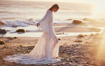 All New Free People Wedding Dress Collection: Bohemian Brides, You're Going To Love It!