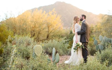 Desert Romance Meets Hollywood Glamour in this Arizona Wedding