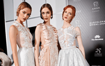 Beautiful Backstage Photos From Barcelona Bridal Week