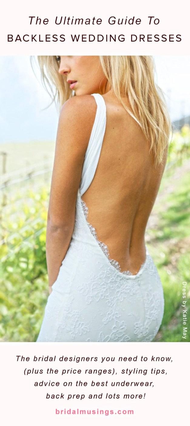 10 Go To Designers For Backless Wedding Dresses