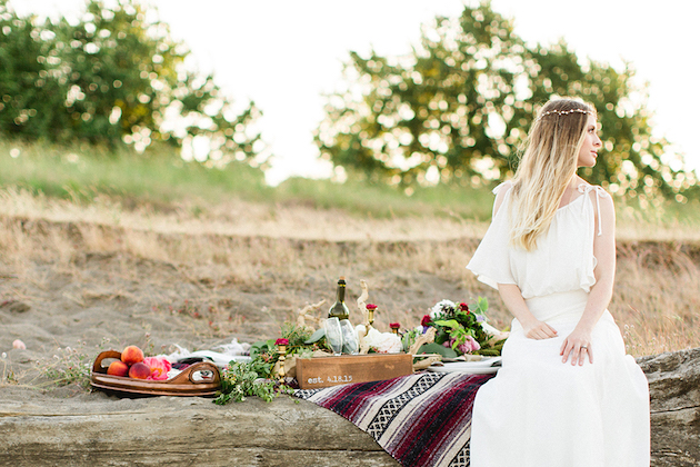 Caribbean Boho Wedding Inspiration: Eclectic Bohemian Beach Wedding Inspiration