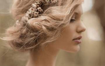 20 Gorgeous Gibson Rolls; Tucked Upstyle Wedding Hair Inspiration