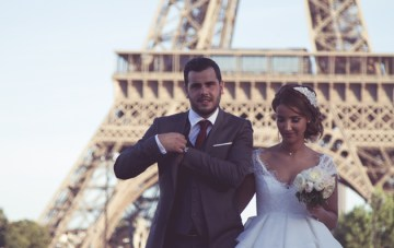Super Chic Civil Wedding in Paris