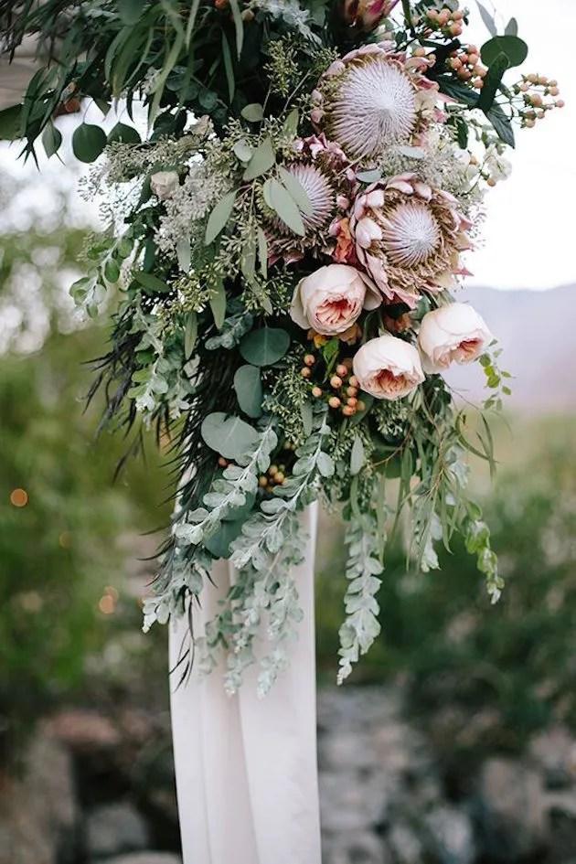 Protea Bouquet    Proteas para Bodas    Nupcial Reflexiones boda Blog 21