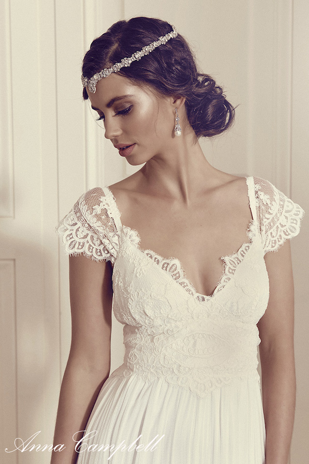 Gossamer: New Anna Campbell Wedding Dress Collection - Bridal Musings