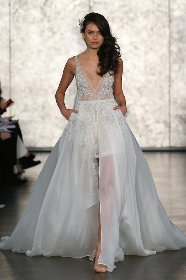 e016d24f5ebe Inbal Dror Wedding Dress Collection | New York Bridal Fashion Week | Bridal  Musings Wedding Blog