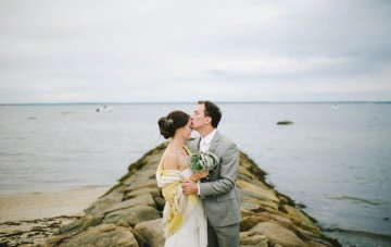 Relaxed and Romantic Backyard Wedding
