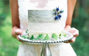 Something Blue: Ethereal Woodland Wedding Inspiration