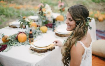 Pumpkin Patch Wedding Inspiration for Fall