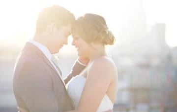 Cool & Romantic Warehouse Wedding in LA
