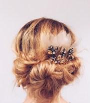 diy wedding hair easy updo