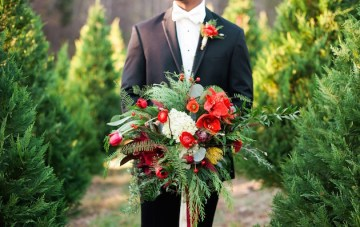Utterly Gorgeous Christmas Wedding Inspiration