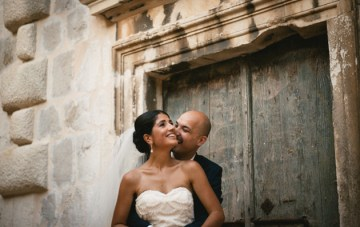 Romantic Travel-Themed Destination Wedding in Croatia