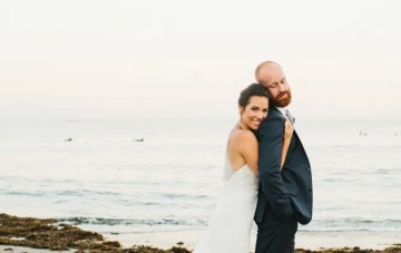 Cool, Stylish & Laid-Back Outdoor Wedding in Malibu