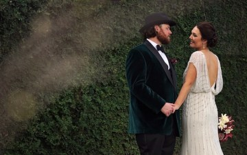 Cool Austin Wedding Film with a Romantic Old Hollywood Feel