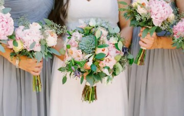 Gorgeous Boho Wedding Inspiration from Donna Morgan