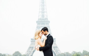 Happy Valentine's Day! Gorgeous Parisian Love Story & Beautiful Wedding Dresses