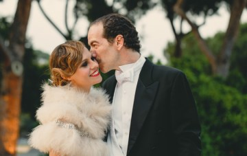 Traditional Italian Wedding Turned Gatsby-Style Soiree