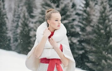 Alpine Winter Wedding Inspiration from Italy
