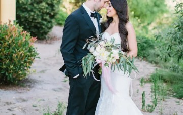 Gorgeous Outdoor Winery Wedding in California