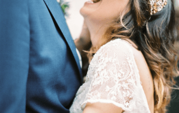 Elegant & Relaxed Al Fresco Destination Wedding in Barcelona