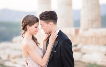 Luxury Destination Wedding Inspiration from Greece