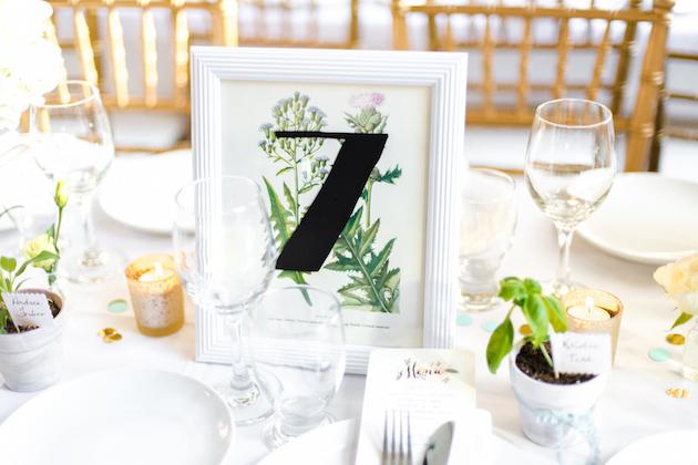 Cheap Wedding Gowns Toronto: DIY Wedding In Toronto With Pretty DIY Botanical Decor