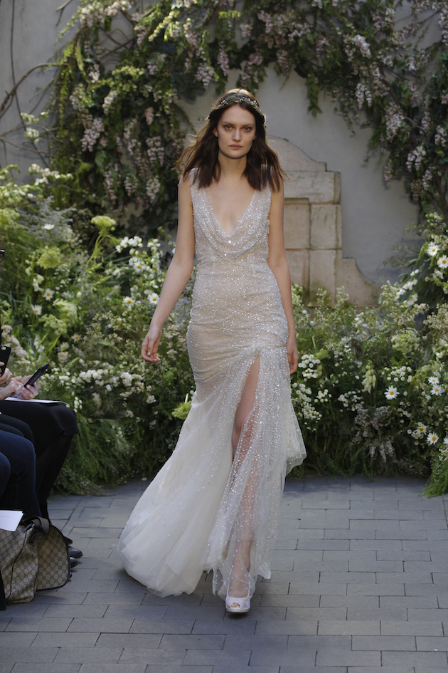 Monique Lhuillier Wedding Dress Collection Spring 2017